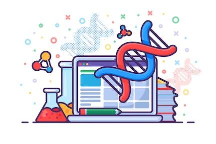 Computer Genetic Engineering DNA