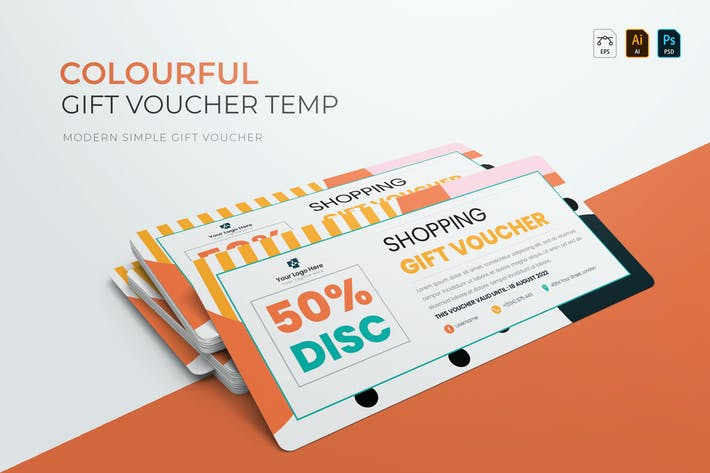 Thumbnail for Creative Colourful | Voucher Gift
