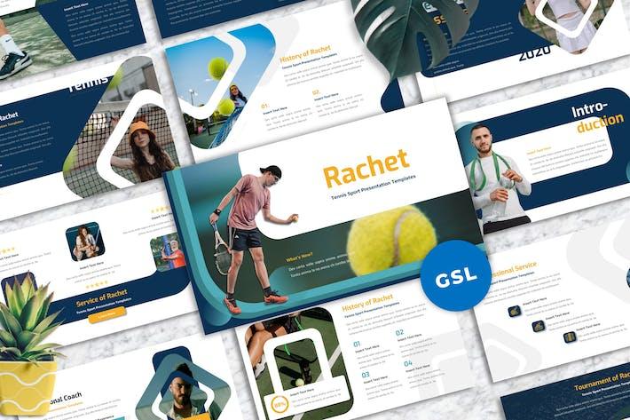 Thumbnail for Rachet - Tennis Sport Googleslide Templates