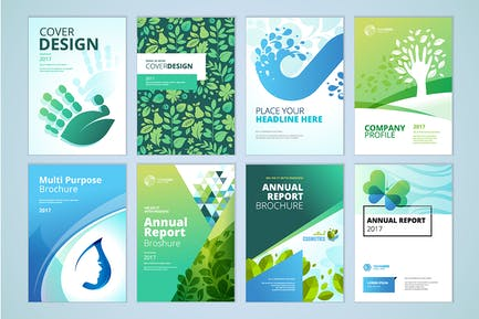 Natural and organic products brochure collection
