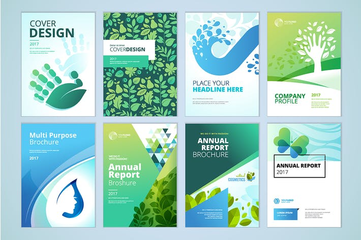 Thumbnail for Natural and organic products brochure collection