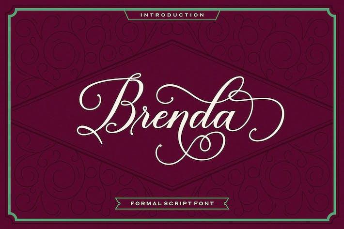 Thumbnail for Brenda Script