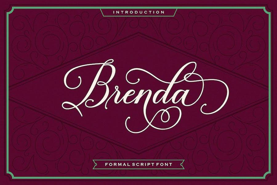 Brenda Script