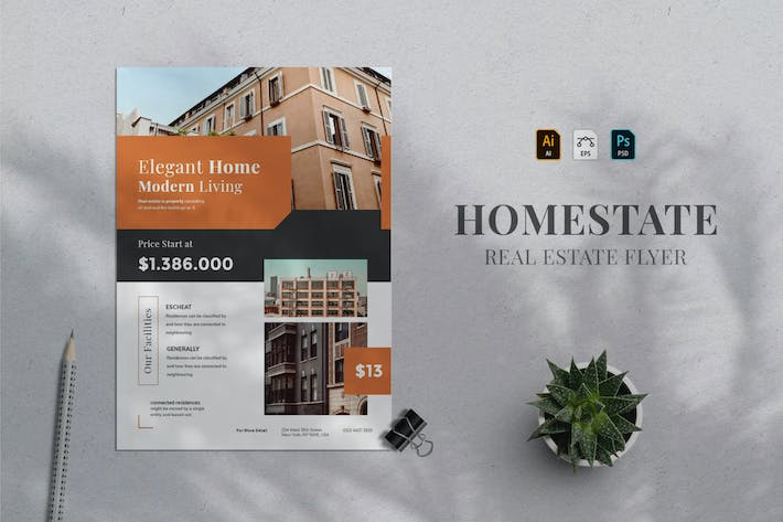 Thumbnail for Real Estate Flyer 06