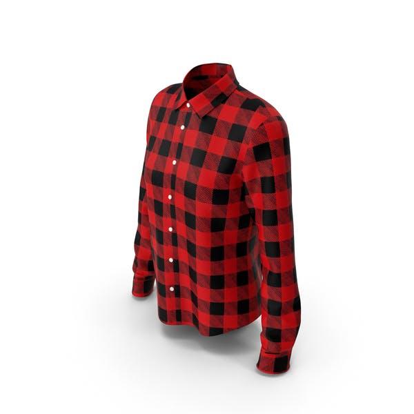 Woman Plaid Shirt