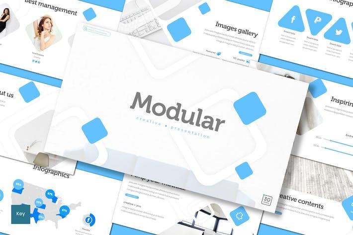Thumbnail for Modular - Keynote Template