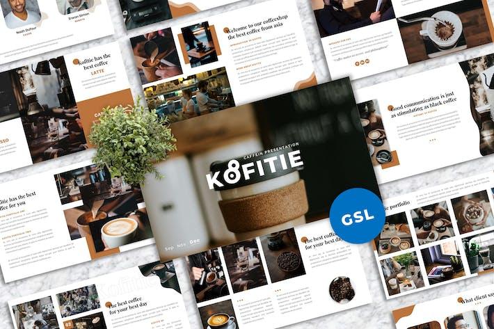 Kofitie – Coffeeshop Business Googleslide Template