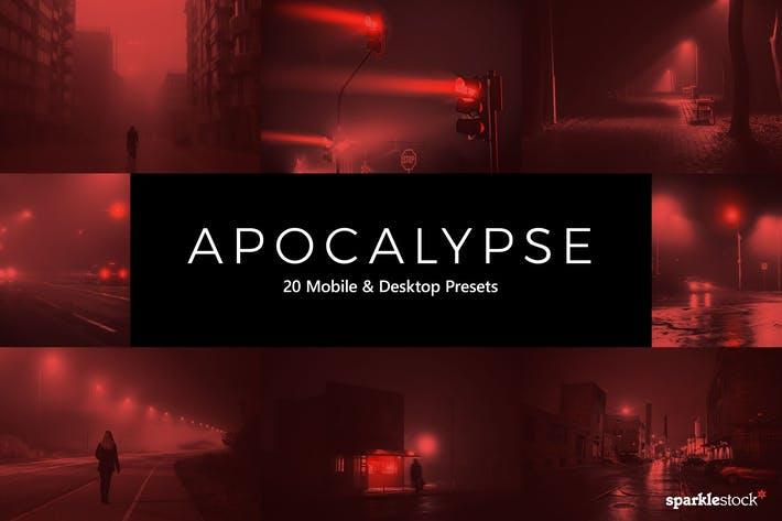 Thumbnail for 20 Apocalypse Lightroom Presets & LUTs