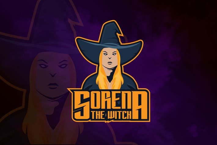 Thumbnail for Sorena the Witch - Mascot & eSport Logo RB