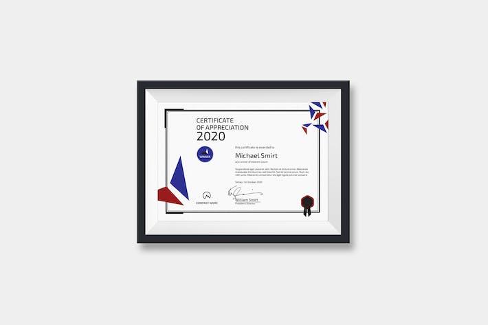 Thumbnail for Landscape Modern Certificate