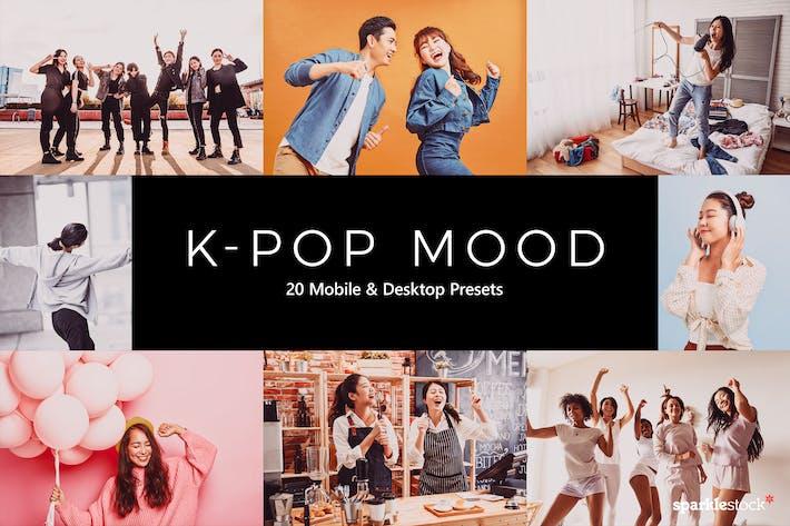 Thumbnail for 20 K-Pop Mood Lightroom Presets & LUTs