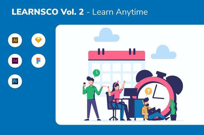 Cover Image For LEARNSCO Vol.2 - Learn Anytime