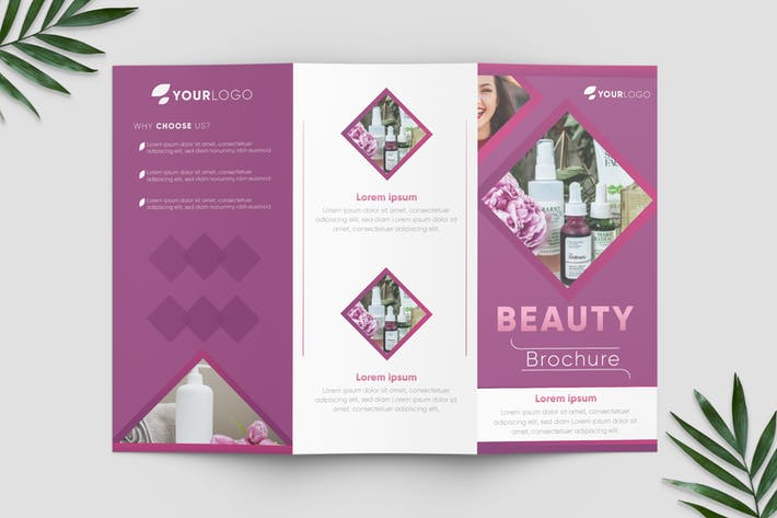Thumbnail for Beauty & Spa Brochure Template