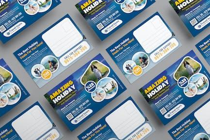 Reise-Postkarte