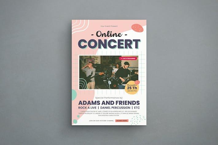 Thumbnail for Online Concert