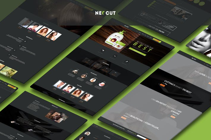 Thumbnail for Neo Cut - HTML5, Responsive Hair Salon Template