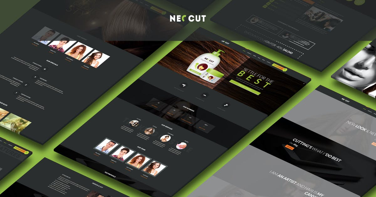 Download Neo Cut - HTML5, Responsive Hair Salon Template by BuddhaThemes