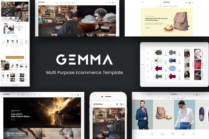 Thumbnail for Gemma - Multistore Responsive Magento Theme