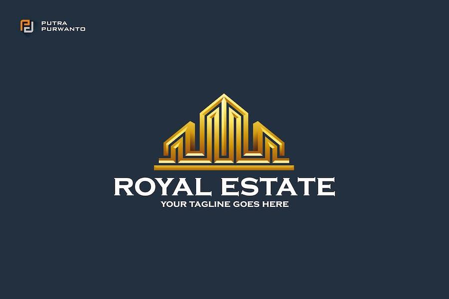 Royal Estate - Logo Template