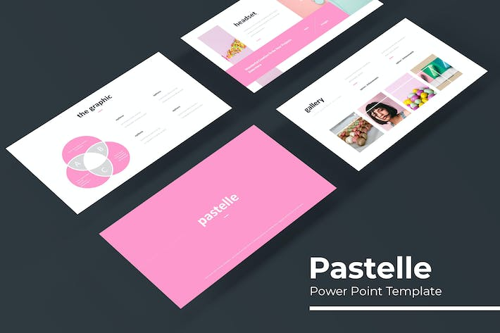 Thumbnail for Pastelle - Powerpoint Template