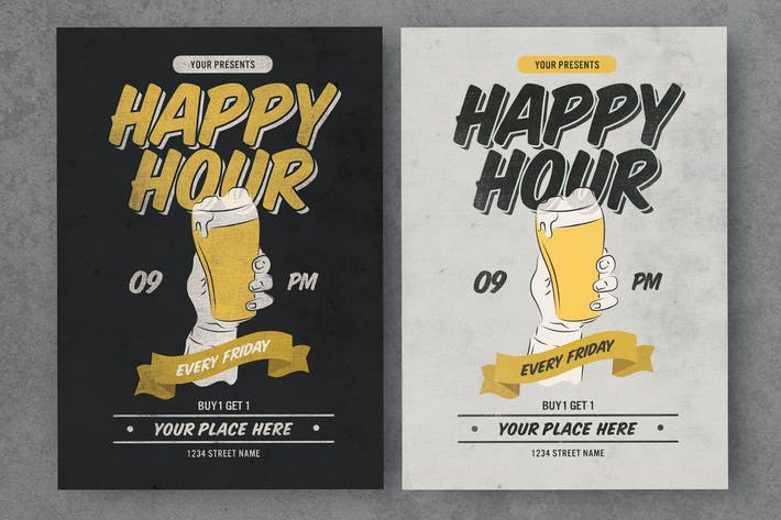 Cover Image For Old Vintage Happy Hour