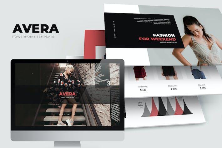 Thumbnail for Avera : Minimal Fashion Powerpoint