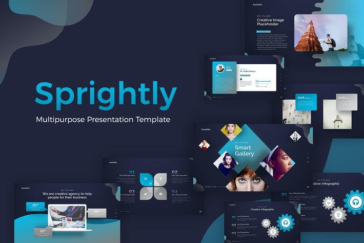 Thumbnail for Sprightly Multipurpose Template Presentation