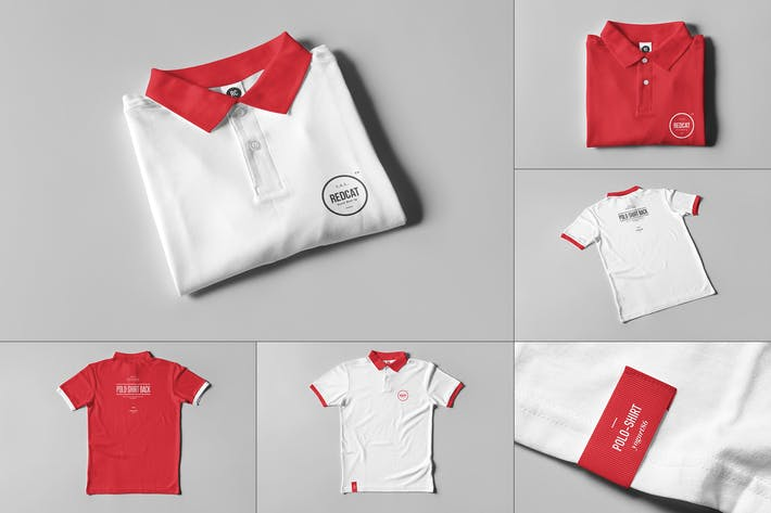 Thumbnail for Polo Shirt Mock-up
