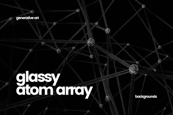Thumbnail for Glassy Atom Array Backgrounds