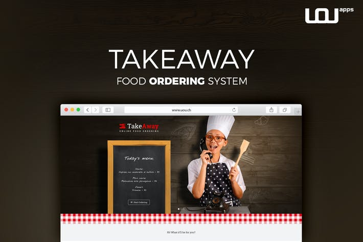 Cover Image For TakeAway - Restaurant & Online Food Ordering