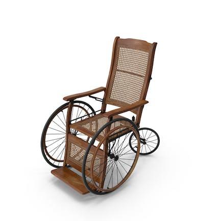 Silla de ruedas Vintage