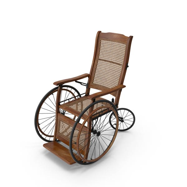Винтаж инвалидных колясок