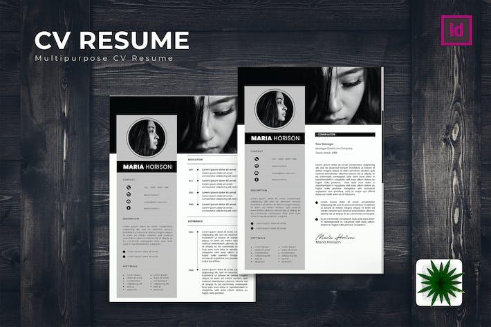 Thumbnail for Minimo CV Resume Template