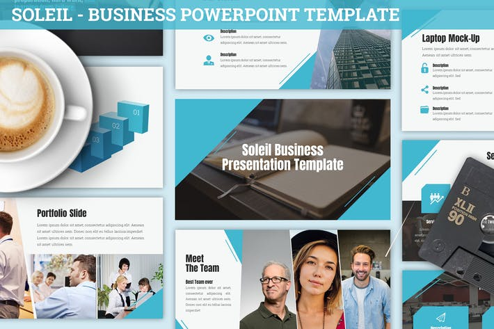 Thumbnail for Soleil - Business Powerpoint Template