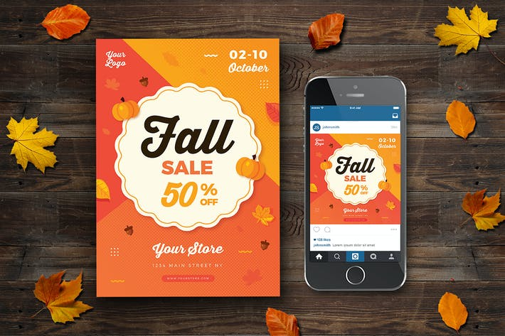 Thumbnail for Fall Sale Flyer