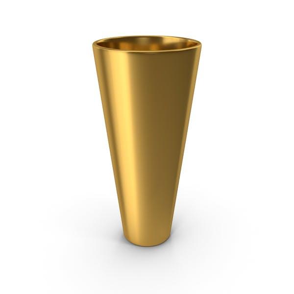 Deko-Vase Gold