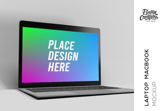 Laptop Macbook Mockup