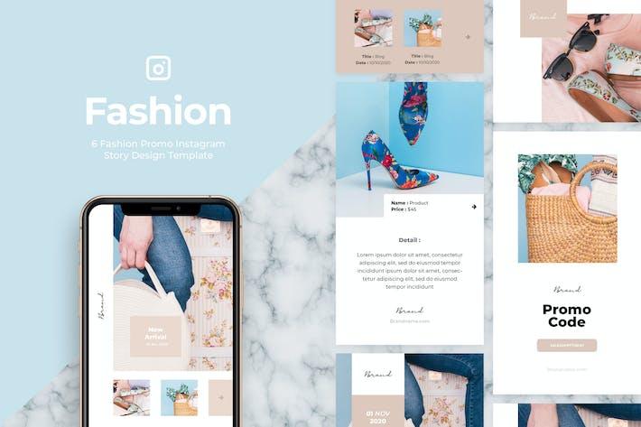 Thumbnail for 6 Promo Fashion Instagram Story Vol.4