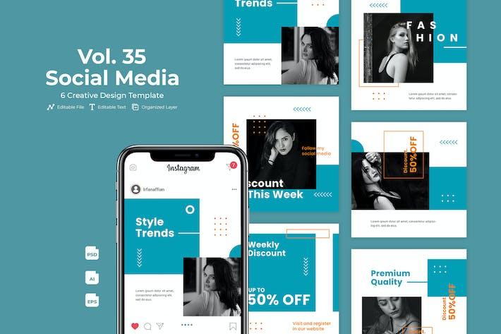 Fashion Social Media Kit Vol. 35