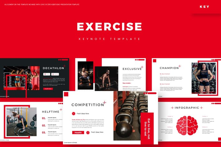 Thumbnail for Exercise - Keynote Template