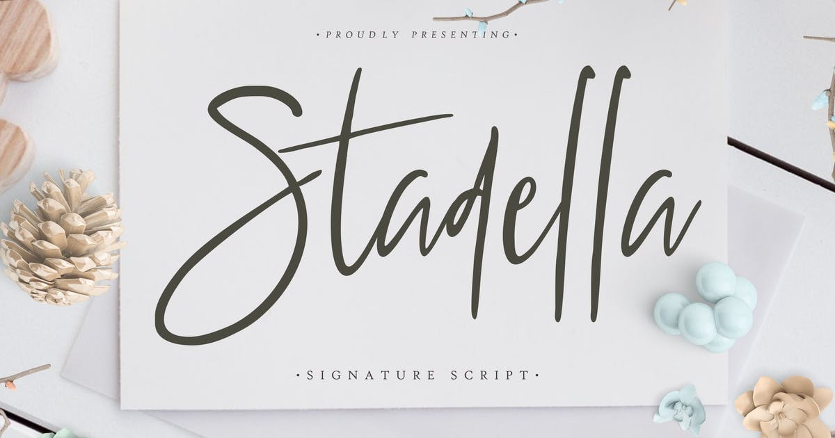 Stadella Signature Script by RahardiCreative