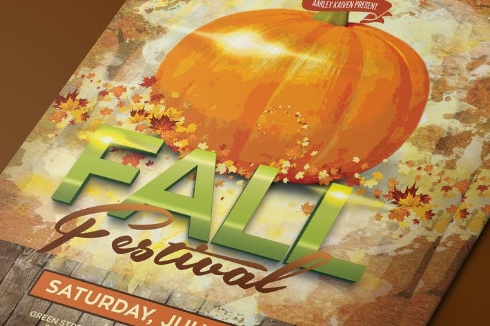 Thumbnail for Fall Festival Flyer / Invitation