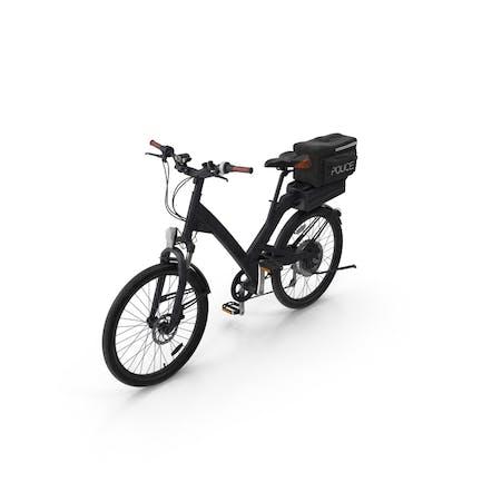 Bicicleta de policía