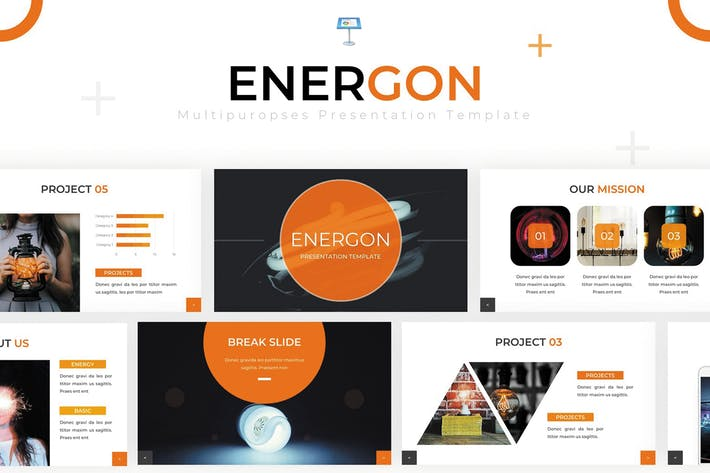 Thumbnail for Energon - Keynote Template