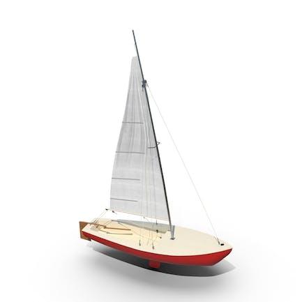 Sailboat Red