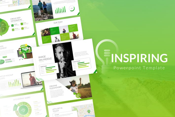Thumbnail for Inspiring Powerpoint Presentation Template