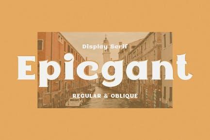 Epicgant - Elegant Font