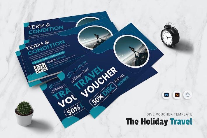 Holiday Travel Gift Voucher