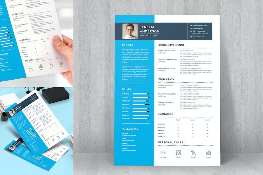 Resume CV Template-22