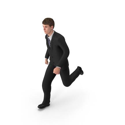 Hombre de negocios John Running